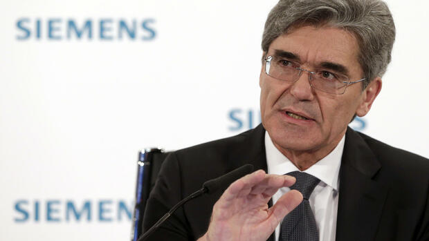 Siemens-Chef Joe Kaeser Quelle: ap