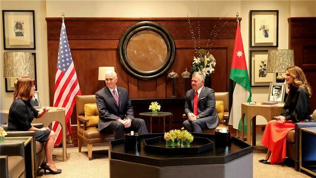 """Jordanischer König kritisiert US-Entscheidung: """"Jerusalem zentral für Frieden in der Region"""""""