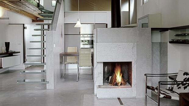 Blick In Eine Offen Gestaltete Wohnung Quelle: © Aaphotograph   Fotolia.com