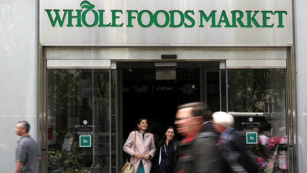 Eine Filiale von Whole Foods Markets in New York. Quelle: REUTERS