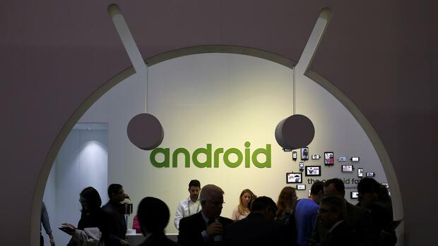 Android Mobile World Congress MWC Quelle: REUTERS