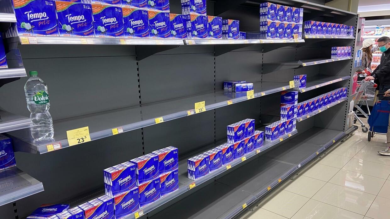 Coronavirus: Warum in Hongkong jetzt das Toilettenpapier knapp wird
