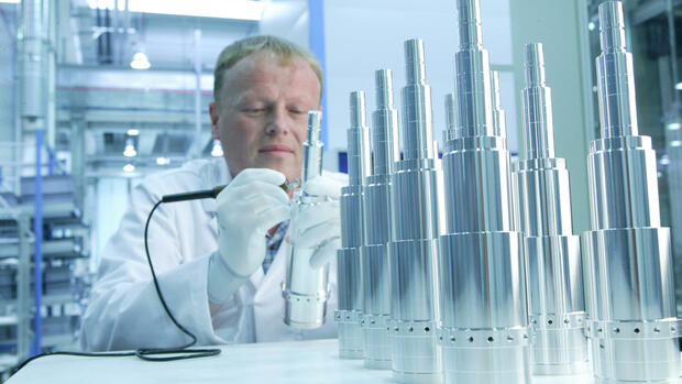 Pfeiffer Vacuum Busch schafft 30-Prozent-Hürde Quelle dpa