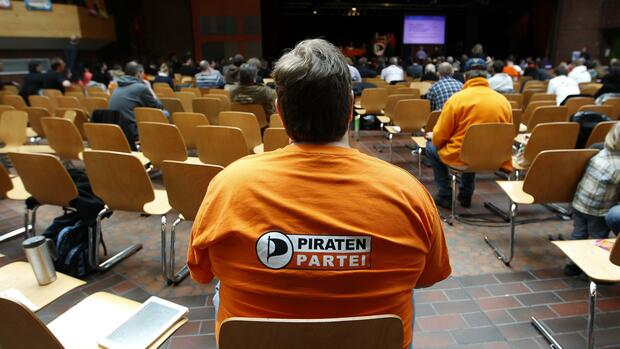 Piraten-Parteitag in Dortmund Quelle: REUTERS