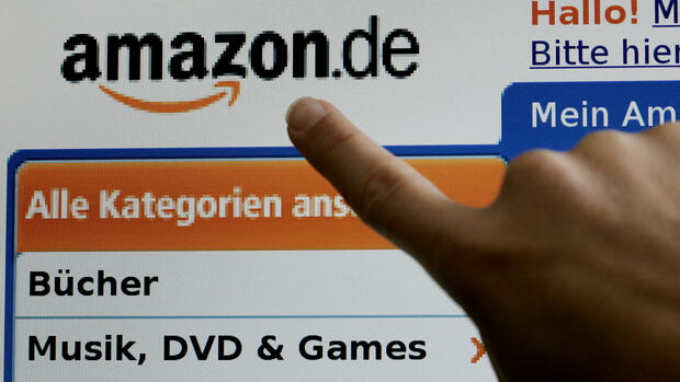 Amazon.de Quelle: dpa