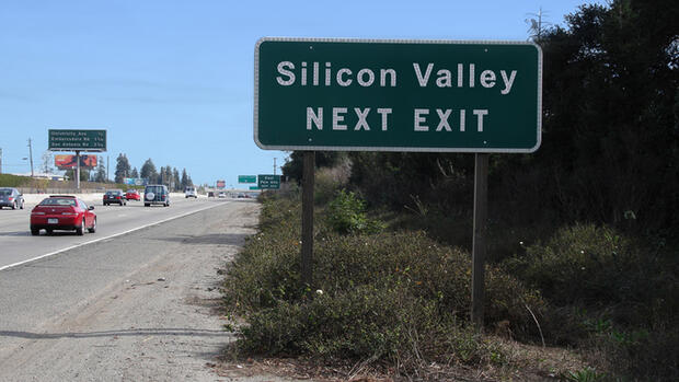 Platz 1: Silicon Valley Quelle: Fotolia