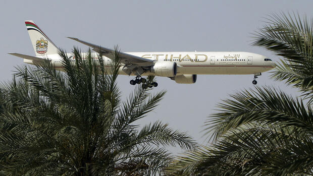 Etihad Airways Quelle: AP