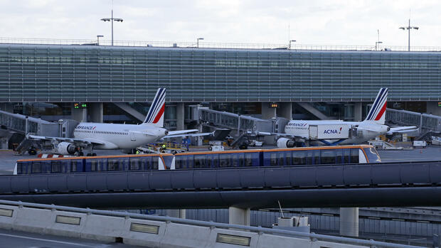 Airport Paris Charles de Gaulle Quelle: REUTERS