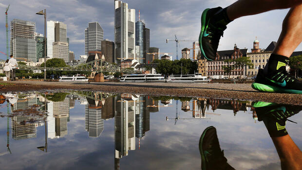 Platz-12: Frankfurt am Main Quelle: AP