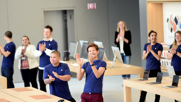 Apple Quelle: REUTERS