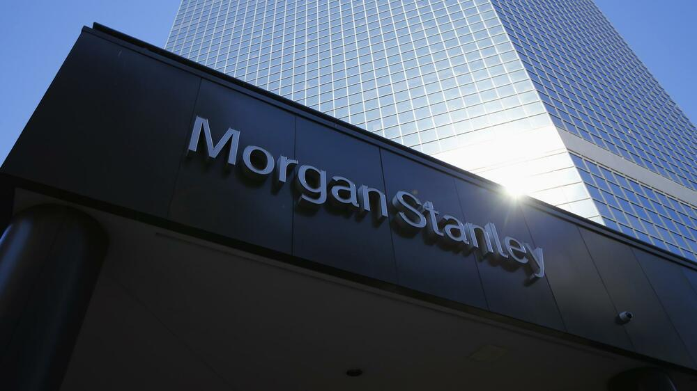 Morgan-Stanley Quelle: REUTERS