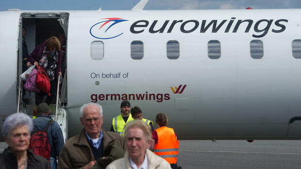 Germanwings Quelle: dpa