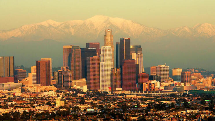 Platz 6: Los Angeles Quelle: AP