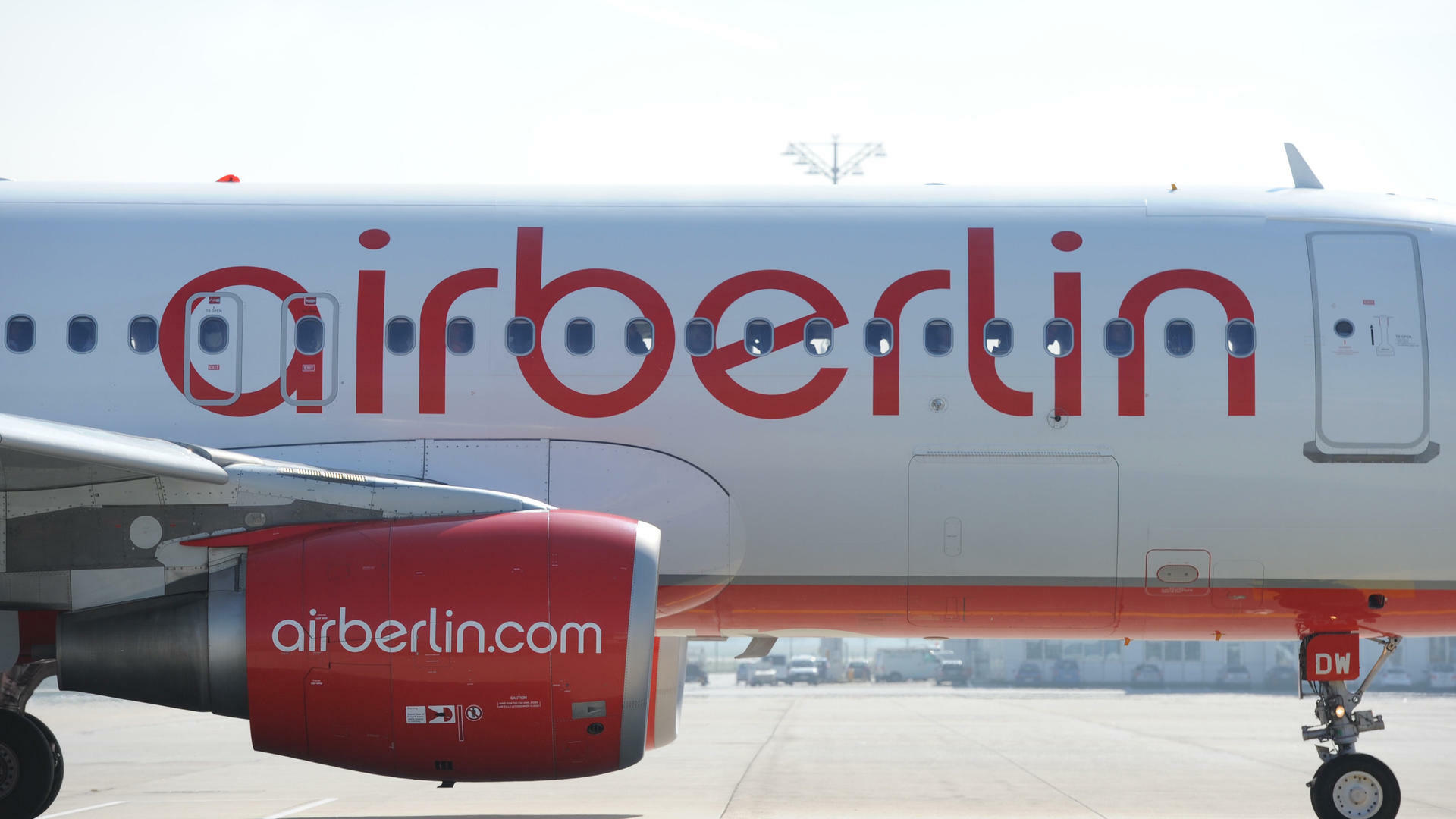 Air Berlin Quelle: dpa