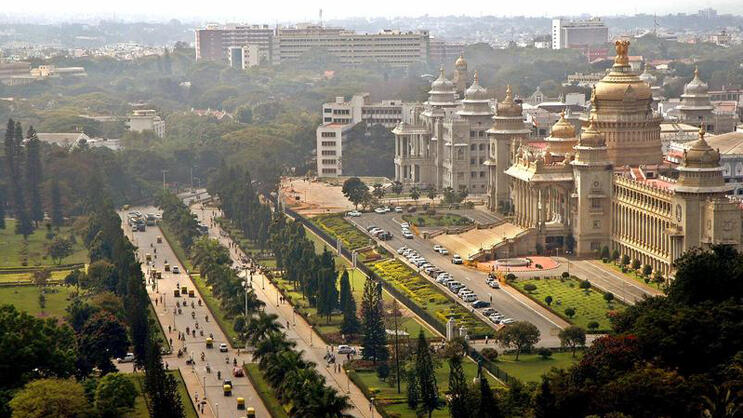 Platz 9: Bangalore Quelle: Reuters