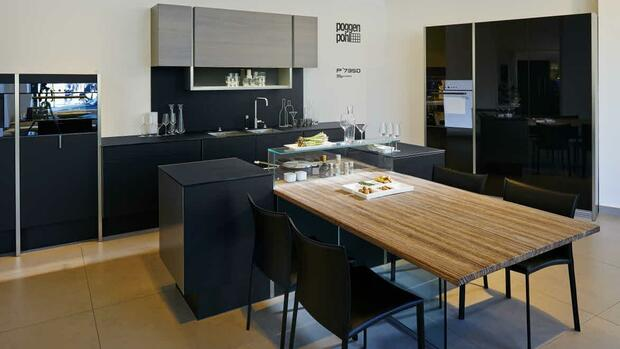 kochen am designerherd deutsche wollen luxus k chen. Black Bedroom Furniture Sets. Home Design Ideas