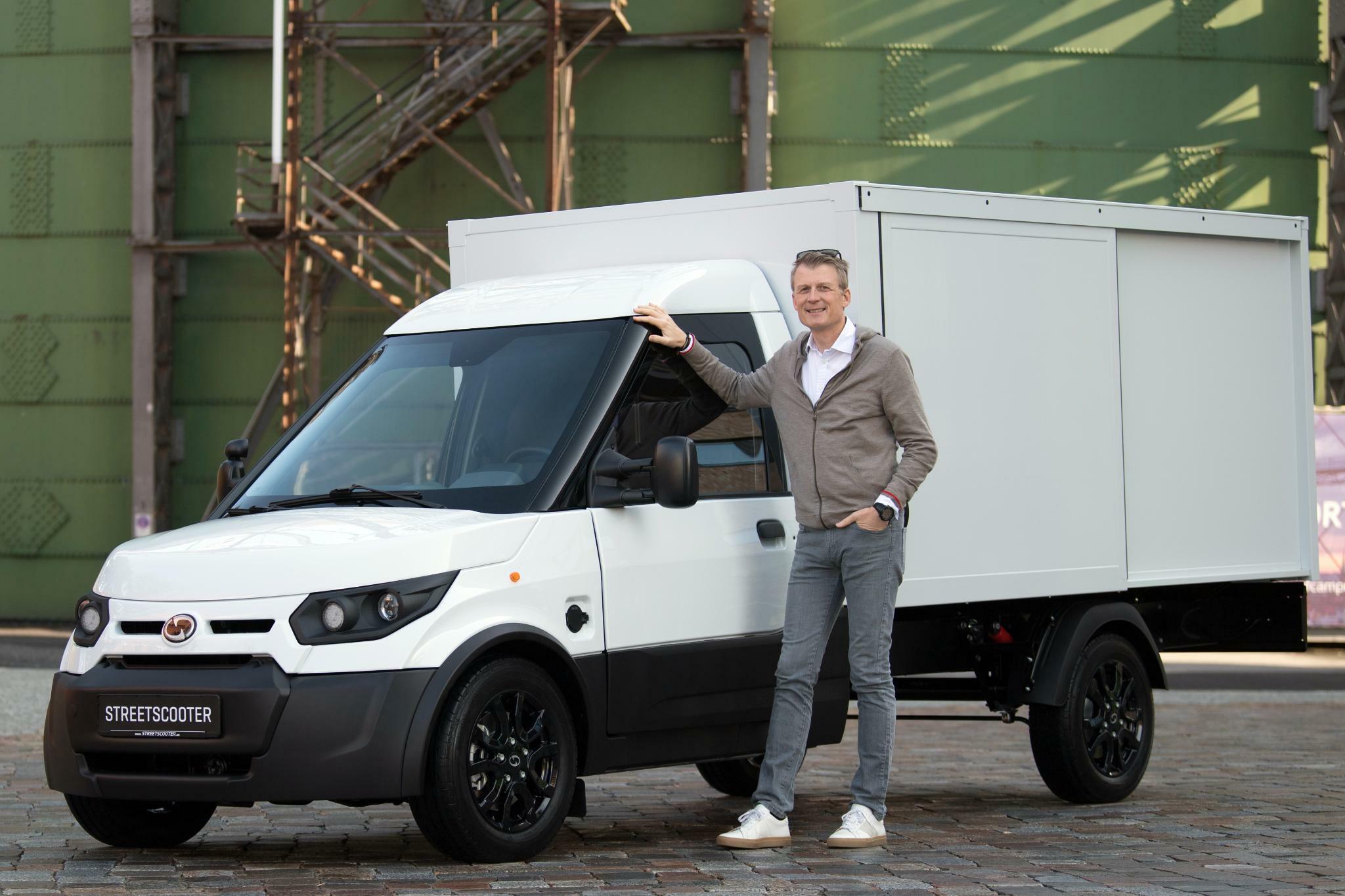 Streetscooter-Chef Jörg Sommer hat große Pläne