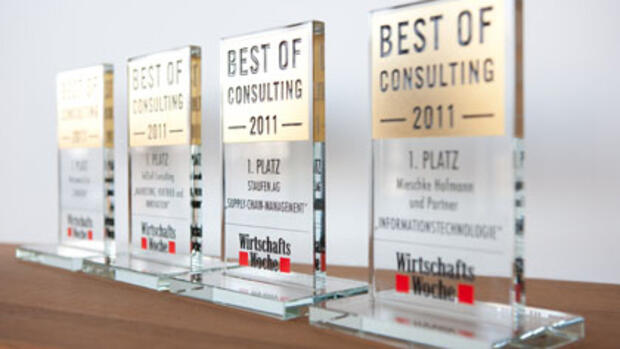 Preisstatue Best Of Consulting