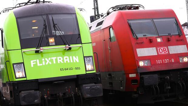 Flixtrain zofft sich mit der Deutschen Bahn