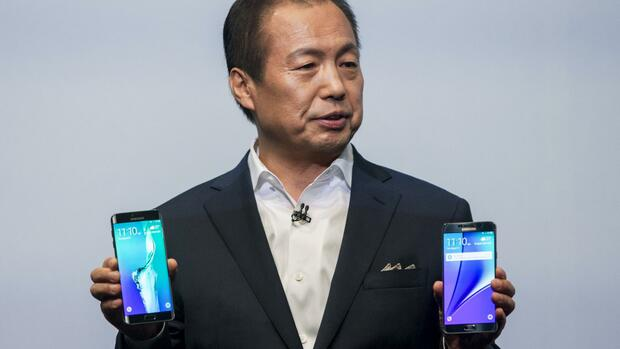 Samsung Galaxy Note 5 Quelle: REUTERS