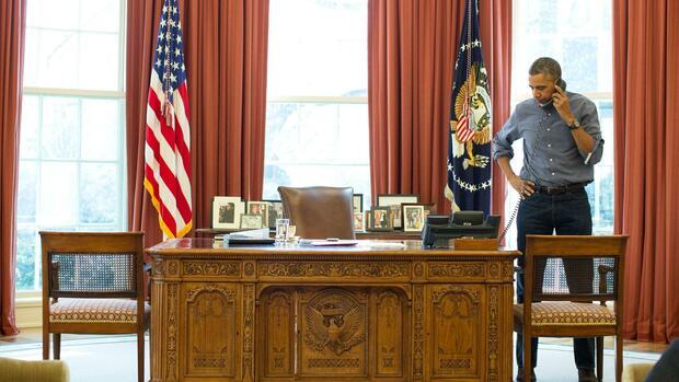 Schreibtisch Us Präsident