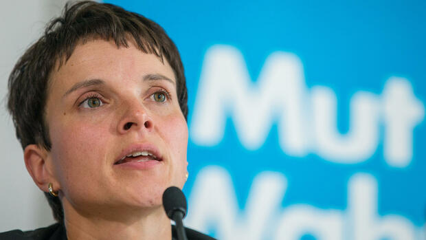 Frauke Petry Quelle: dpa