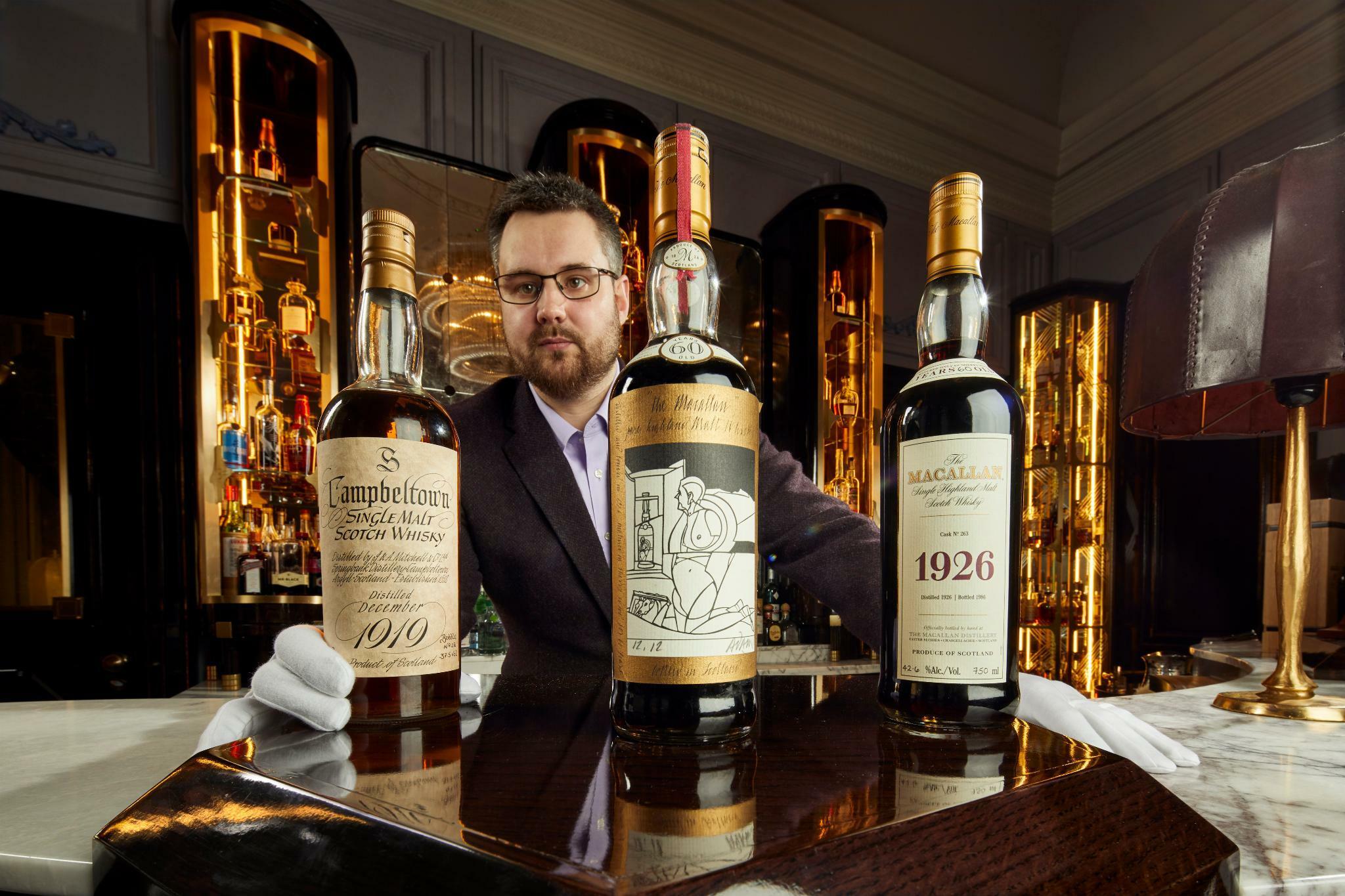 Auktion: Whisky-Sammlung für über neun Millionen Euro