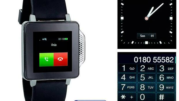 Smartwatch SimValley PW-315.touch Quelle: EnStyle GmbH, Buggingenpr