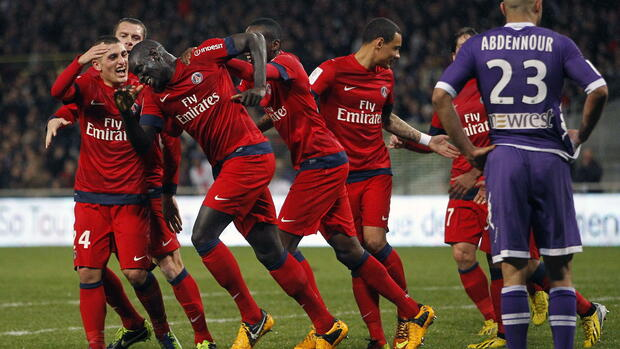 Paris Saint-Germain Quelle: dpa