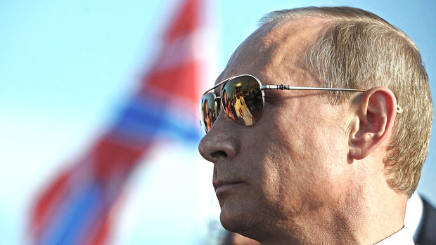 An Putin perlt (fast) alles ab. Quelle: dpa Picture-Alliance