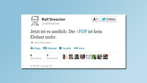 http://twitter.com/ralfdrescher/ Quelle: Screenshot