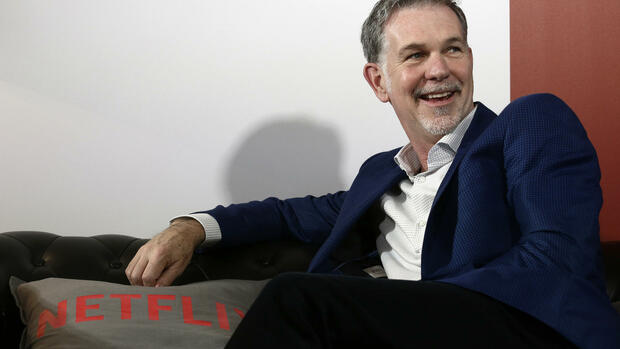 Netflix-Chef Reed Hastings Quelle: AP