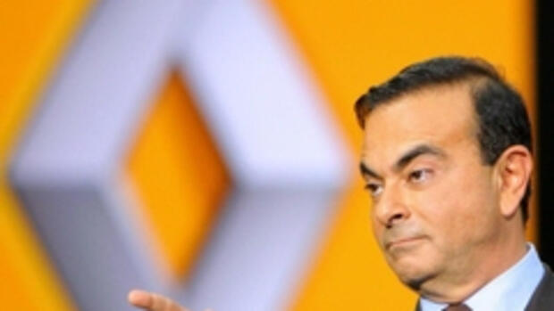 Carlso Ghosn, Renault-Chef, Quelle: dpa
