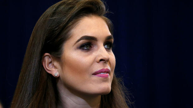Hope Hicks Quelle: REUTERS