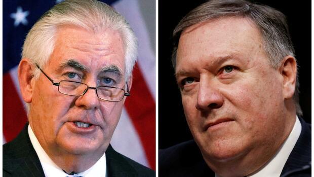 """Das Chaos in der US-Außenpolitik geht weiter."""" Quelle Reuters"""