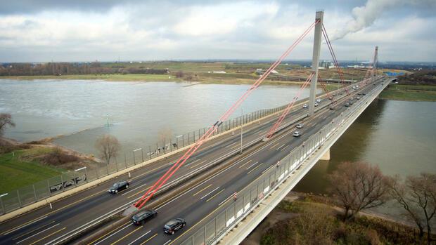 Bundesverwaltungsgericht gibt Planern Recht | Neubau der A1-Rheinbrücke bei Leverkusen genehmigt