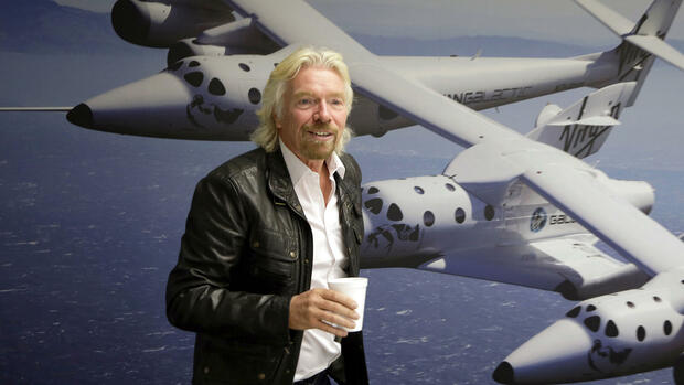 Richard Branson Quelle: AP