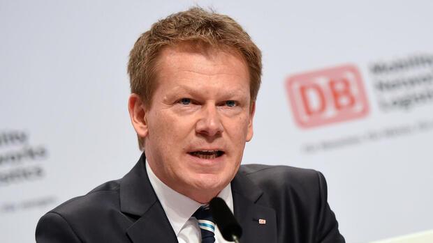 Führungswechsel bei der Bahn: Richard Lutz übernimmt