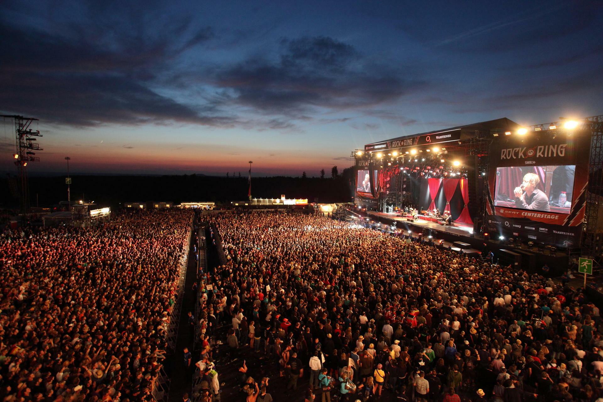 """Zwillingsfestivals """"Rock am Ring"""" und """"Rock im Park"""" vor ..."""