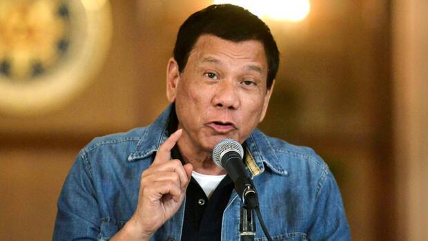 Der philippinische Präsident sieht das Gericht in Den Haag gegen sich. Quelle Reuters