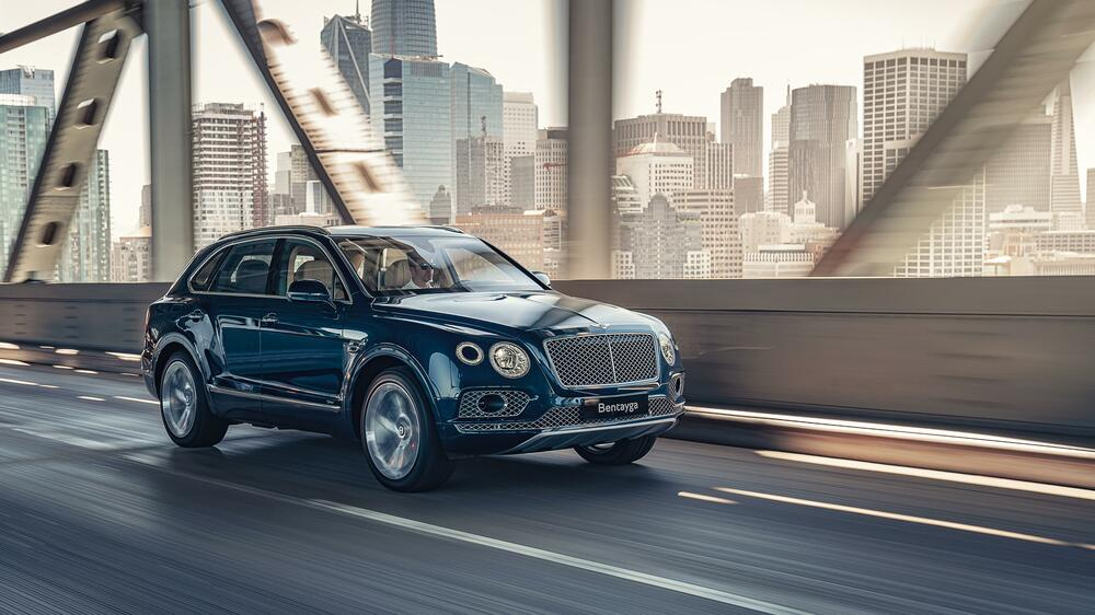 Bentleys dickstes Auto, der Bentayga, musste abspecken. Quelle: Bentley Motors Limited