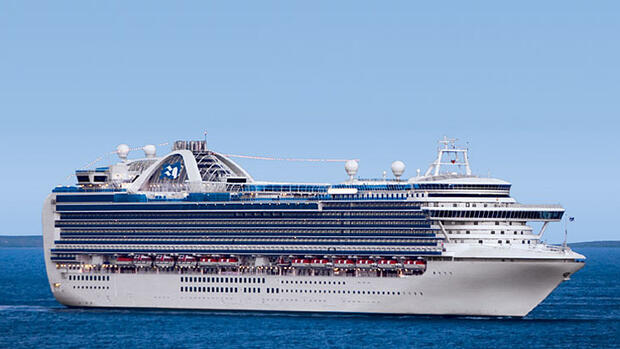 Ruby Princess Quelle: Pressebild