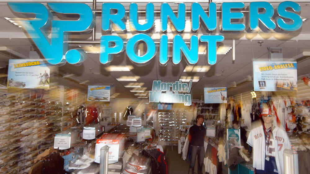 Bedrohte Runners Point Filiale Quelle: AP
