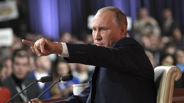 Putin geht als unabhängiger Kandidat in die Präsidentenwahl