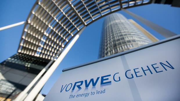 Der Essener Energiekonzern RWE schreibt wieder schwarze Zahlen
