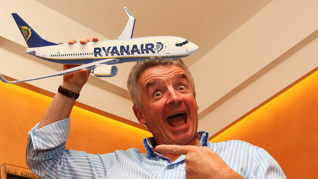 Ryanair CEO Michael O'Leary Quelle: REUTERS