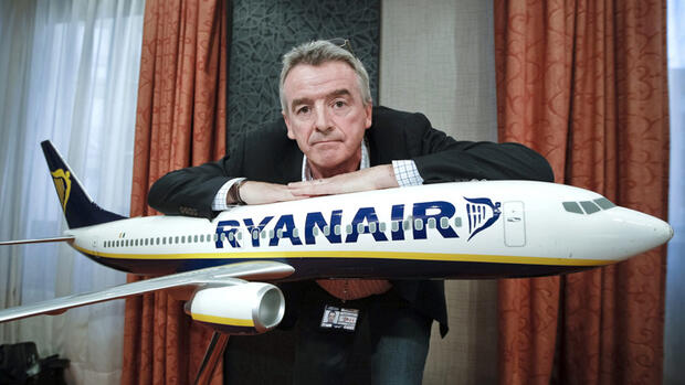 Ryanair-Chef Chef Michael O'Leary Quelle: dpa