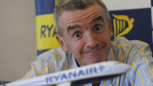 Ryanair-Chef Michael O'Leary Quelle: dpa
