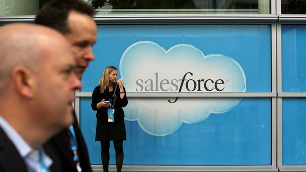 SAP-Konkurrent Salesforce wagt größten Deal der Firmengeschichte Quelle: Reuters