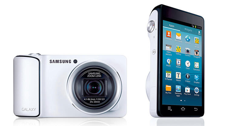 Samsung Galaxy Camera Quelle: Presse